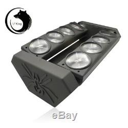 105W RGBW Spider Moving Head Stage Lighting LED DMX Disco DJ Party Effect Lights