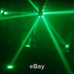 12 LEDs Moving Head Stage Light RGBW Beam Effect 6/8CH DMX512 Party Wedding Xmas