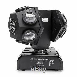 120W 12 LED Moving Head Stage Effect Lighting RGBW Beam Spotlight DMX DJ Concert
