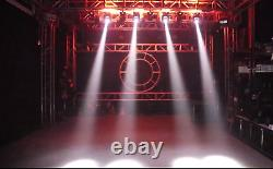 120W RGBW Beam Dyed Double-sided LED Moving Head Light DJ Disco DMX Stage Light
