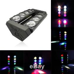 120W RGBW Spider Moving Head Stage Lighting LED DMX Disco DJ Party Effect Lights
