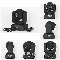 15W LED Mini Moving Head Color GOBO Spot Light Projector DMX DJ CLUB Party Stage