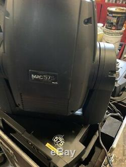 2 Martin Professional Mac 575 Krypton moving head Stage Lights With Flight case
