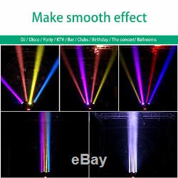 200W 4in1 RGBW Moving Head Stage Light Beam DMX512 Disco DJ Party Lamp 18/72CH