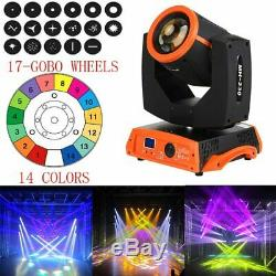230W 16CH Moving Head Gobo Stage Lighting Digital 7R Zoom Prism Beam DMX512