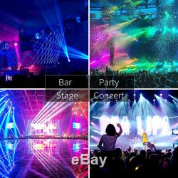 2PCS 60W LED RGBW Spot Moving Head Beam Light Stage Lighting DMX Party KTV Disco