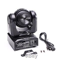 2PCS 80W Double Sides Spot Beam Moving Head Stage Lights DJ Party Lighting DMX