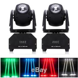 2PCS Moving Head Stage Light RGBW Beam DMX512 for Show DJ Disco Bar Party