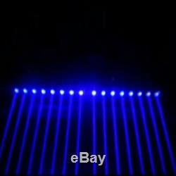 2Pcs 100W RGBW 4in1 8LED Bar Beam Moving Head Light DMX DJ Stage Color Mixing