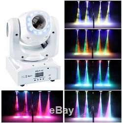 2X 70W DMX Stage Lighting RGBW Gobo LED Moving Head Show Party DJ Magical Circle