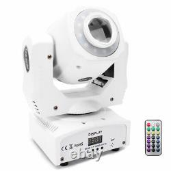 2X 80W Pattern Moving Head Gobo Stage Light LED Remote DMX Show Disco Club Party