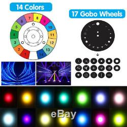 2x 230W Beam Zoom Moving Head Stage Light Effect 16Prism DMX 16Ch DJ Party Show