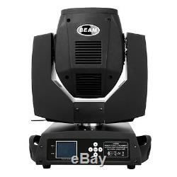2x Osram 230W Zoom Moving Head Gobo Beam Light 16 Facet Prism DMX DJ Stage Party