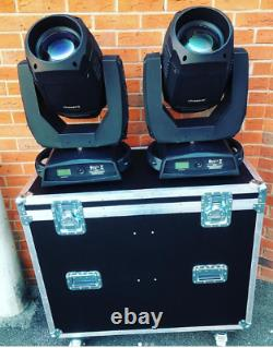 2x Pair of Super Hero 470 PRO CMY Moving Head in case Stage Theatre Professional