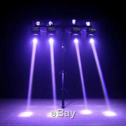 2x U`King 100W Stage Lighting LED DMX Moving Head Double Sides Disco Party Light