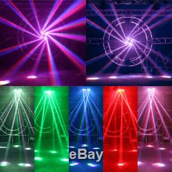 300W RGBW 12LED 4IN1 Spider Stage Moving Head Light DMX512 Bar DJ Beam Lighting