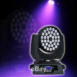 360W RGBW Zoom Wash Light LED Moving Head Licht Stage Bühnenbeleuchtung Lamp DHL