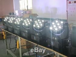 363W RGBW Led Beam Moving Head DJ Stage Light Flight Case 4pcs Free Shipping