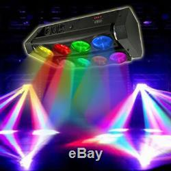 4In1 Spider Moving Head Licht Beam Stage Light 8x10W RGBW LED DMX Bühnenlicht DE