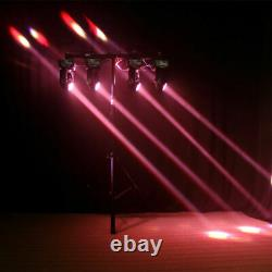 4PCS 100W LED DMX Double Sides Moving Head Stage Lighting DJ Disco Party Lights