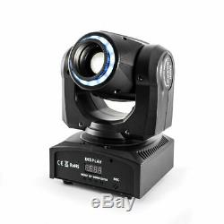 4PCS 4 in 1 Sound Active Moving Head Stage Light LED Laser Beam RGB Disco Party