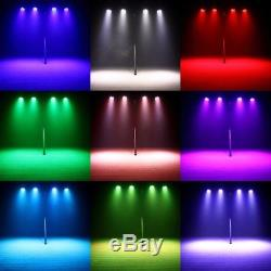 4PCS 70W RGBW 4in1LED Moving Head Stage Light DMX512 Disco Party Lighting 9/14CH