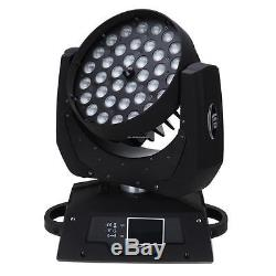 4pc 36x10W RGBW 4in1 LED Zoom Moving Head Stage Light Moving Light Effect