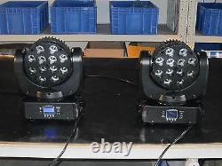 4pcs 1210W RGBW 4 in 1 Led Beam Moving Head Light DJ Stage Light Free Shipping