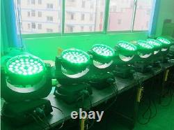 4pcs 3615W RGBWA 5 in 1 Led Moving Head Zoom Moving Head Wash Stage Light