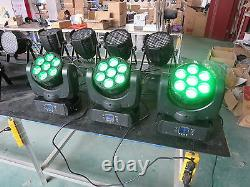 4pcs 715W RGBW 4 in 1 Led Beam Moving Head Light DJ Stage Light Free Shipping