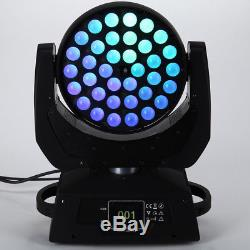 4x360W RGBW Zoom Moving Head Stage Light 4in1 LED Light DMX 512 Party Pub Show