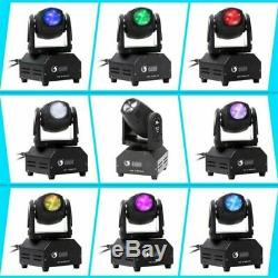 4x4In1 RGBW Stage Lighting Disco DJ LED Moving Head DMX512 Spot GOBO Party Light