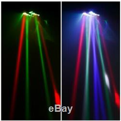 4xRGBW Spider Moving Head Light DMX-512 Auto LED Stage DJ KTV Effect Lights