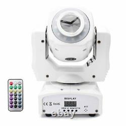 60W 8 Patterns LED Beam Belt Moving Head Stage Light DMX512 Disco Party Remote