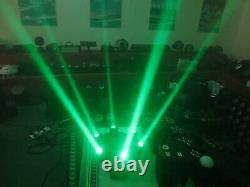 612W RGBW 4 in 1 Led Beam Moving Head Wash DJ Stage Light 1pc Free Shipping