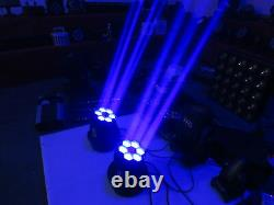 615W Bee Eyes LED Beam Moving Head Disco DJ Stage Light 1pc Free Shipping