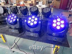 712W Led Beam Moving Head RGBW Wash Light Stage Club DJ Light 1pc Free Shipping