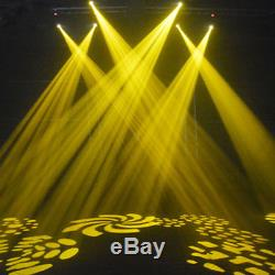 8PCS 80W Auto/Sound Control Gobos Moving Head Stage Light Disco Christmas Party