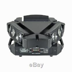 9 LED RGB Spider Bird Moving Head Stage Lighting Beam Light DJ Disco Effect