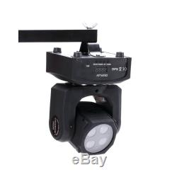90W 4LED Double Stage Light RGBW Spot Sides Moving Head DMX512 DJ Party Lighting
