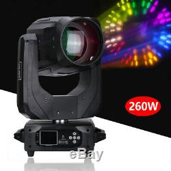 9R 260W Head Beam Moving Light Rainbow Effect DJ Stage Wedding Show Lighting DE