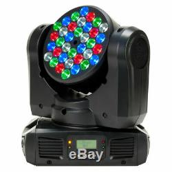 A Pair of American DJ ADJ Inno Color Beam LED 108W RGBW Moving Head Stage Lights
