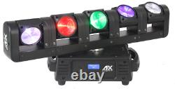 AFX BLADE5-FX 5- Headed LED Moving Head Beam Party Disco Club Dj Event Stage