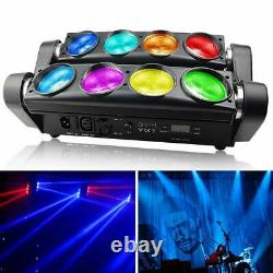 BETOPPER DJ LED Lights 8x8W Super Bright Moving Head Stage Light RGBW 4 in 1