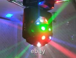 Beam Strobe Laser 3 in 1 Led Moving Head Light Stage Lighting 4pcs Free Shipping