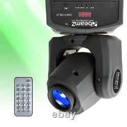 Beamz Panther 25 LED Moving Head DJ GOBO Stage Light Club Lighting Show Spot