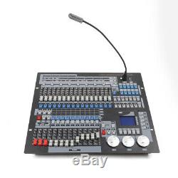 DJ Moving Head Light 1024 CH DMX 512 Controller Lighting Console Stage +Flycase