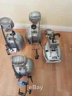 DJ Stage Lights Moving heads/Abstract VRX Scanner Lights by Sabre Tech set of 4