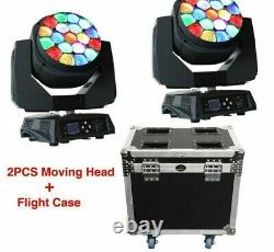 DMX Stage Light Bees Eyes Moving Head Lights With Zoom 2 Pcs/Lot Equipment Tools