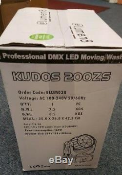 Elumen8 Kudos 200ZS Spot/Was Zoom Moving Head Stage Lights (Pair)